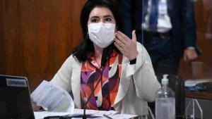 Read more about the article Simone Tebet aponta 23 erros em nota 'fraudulenta' de compra da Covaxin pelo Governo