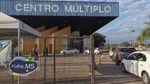 Read more about the article Corumbá amplia horário de vacinação no poliesportivo até a meia noite