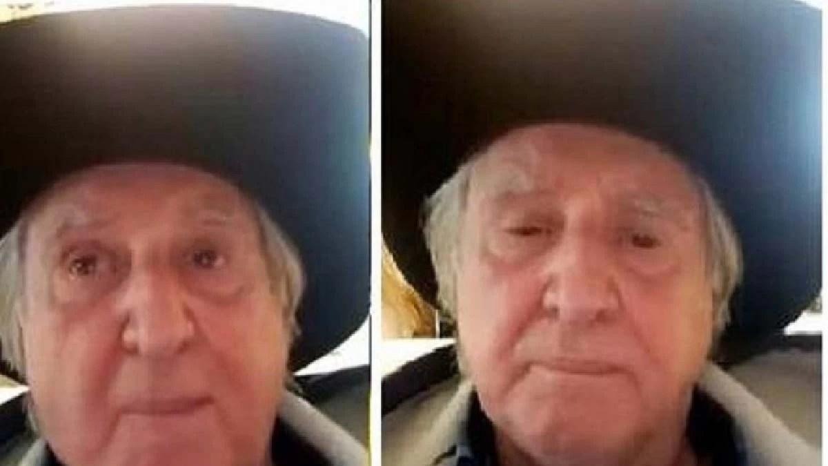 You are currently viewing Sérgio Reis chora ao se justificar sobre áudio com ameaças ao STF