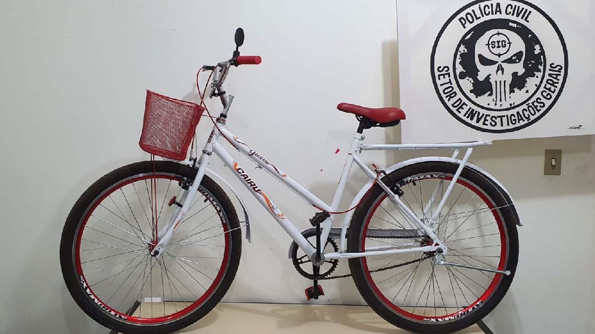 Read more about the article Polícia Civil e Penal recuperam bicicleta furtada em frente de supermercado no centro