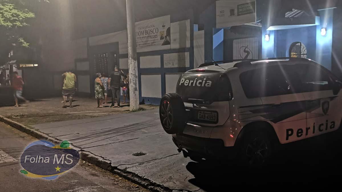 Read more about the article Homem morre em pátio de escola após ser baleado no meio da rua no Dom Bosco