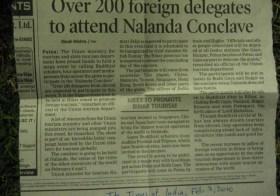 Conclave Buddhista em Nalanda – 2