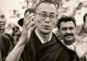 Dalai Lama em 1958