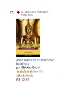 59 dias entre os 100 mais da Amazon!