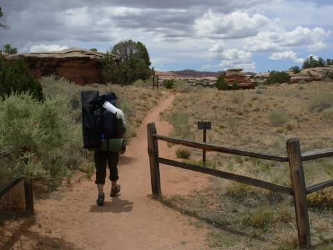First Few Steps Into Canyonlands