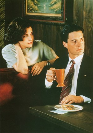 Folie à Deux Events Twin Peaks Event Inspiration Mood Board Audrey and Agent Cooper Style Inspiration