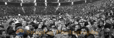 Crowd at Linkin Park concert SLC, Utah