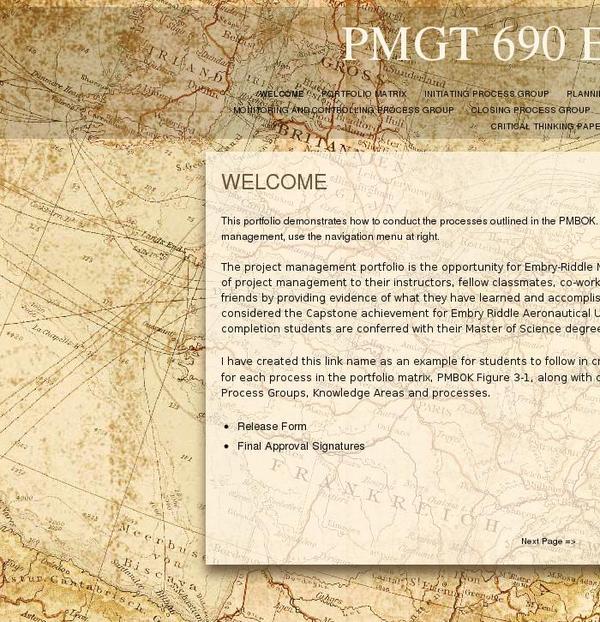 PMGT 690 Example