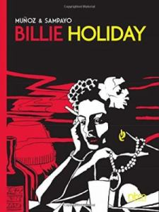 Cover of the graphic novel Billie Holiday.