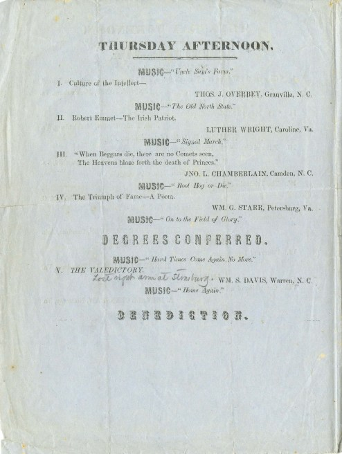 1859 graduation program page 3