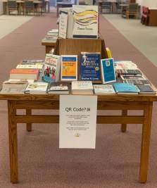 Photo of the Choose Success Display at McGraw-Page Library.