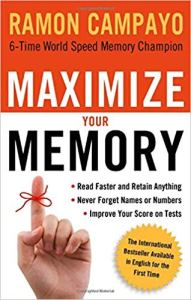 Cover the book of Maximize your Memory