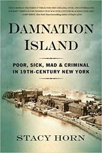 Cover of the book Damnation Island.