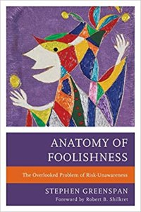 Cover of the book Anatomy of Foolishness.