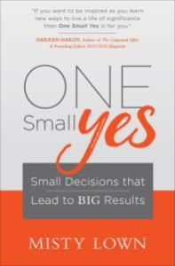 Cover of the book One Small Yes .