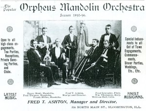 Early Orpheus Mandolin Orchestra