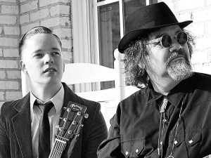 Billy Strings and Don Julin