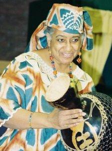 Mama Edie, the Storyteller