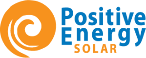 Positive Energy Solar_Logo_Verticle_Blue&Orange