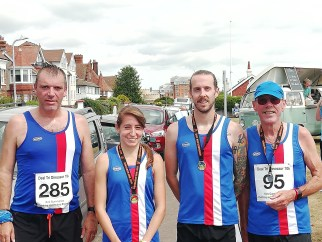 Folkestone Running Club at Deal Dinosaur 10k