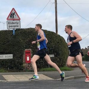 Nick Steele at the Woodchurch 10 mile race
