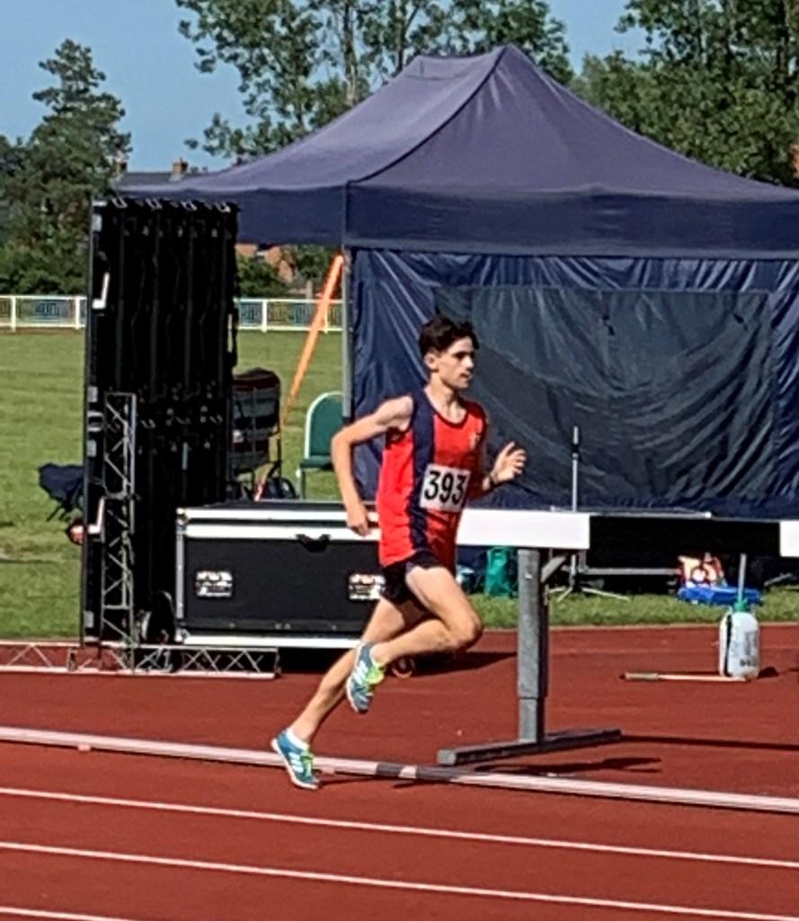 Noah Paterson at Kent Schools