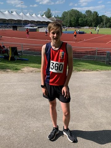 Ollie Collier at Kent Schools
