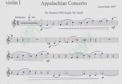 Appalachian Concerto
