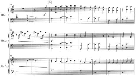 La Llorona for three harps