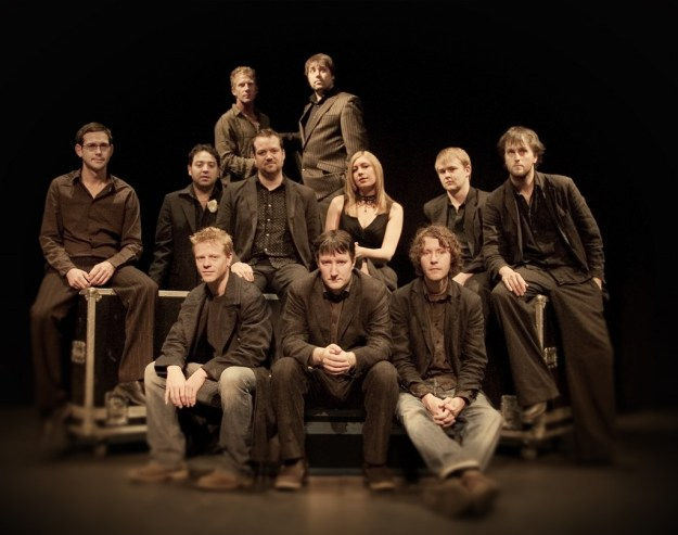 Bellowhead. (Photograph by Hugo Morris)