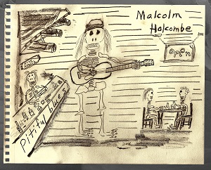 Malcolm Holcombe - 'Pitiful Blues' - cover (300dpi)