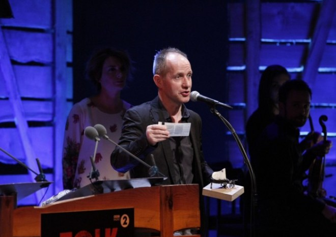 "Congratulations to Iarla Ó Lionáird & THE GLOAMING on winning the BBC Radio 2 Folk Award 2015 ""Best Traditional Track"" for their composition ""Samhradh Samhradh""."
