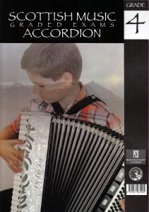 Scottish Music Exam Accordion Grades 1 to 5 book