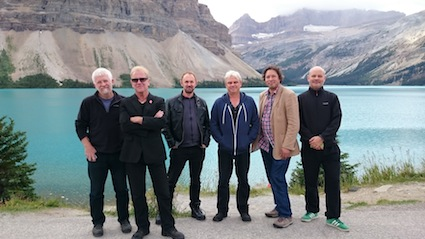 Oysterband at Bow Lake