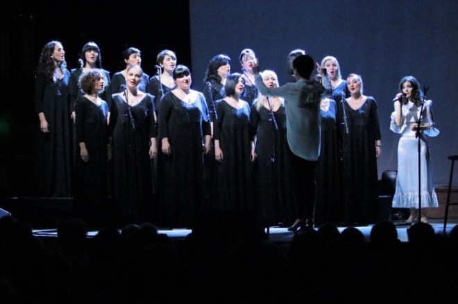 Katie Melua and choirs