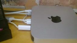 USB into the MAC