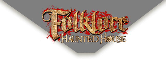 Folklore Haunted House official logo