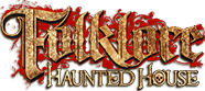 Folklore Haunted House official logo on a transparent background.