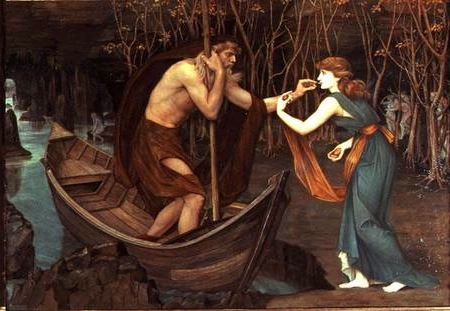 Charon and Psyche, John Roddam Spencer Stanhope
