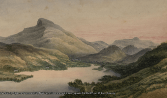 Lake Bala by Alphonse Dousseau1830-1869 https://commons.wikimedia.org/wiki/File:DV405_no.18_Lake_Bala.png