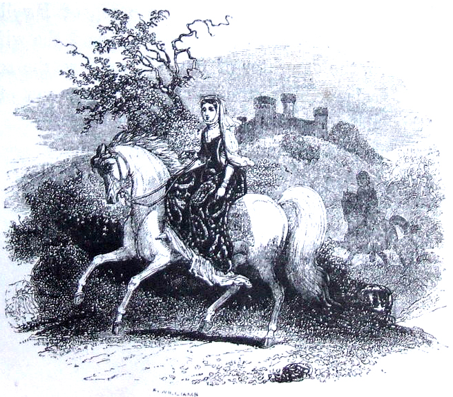 Faerie Princess Rhiannon, From The Mabinogion, translated by Charlotte Guest, 1877