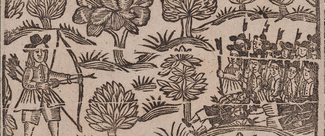 Robin Hood's Progress to Nottingham, c. 1693-95, University of Glasgow, Euing Ballads 306 https://ebba.english.ucsb.edu/ballad/31723/citation