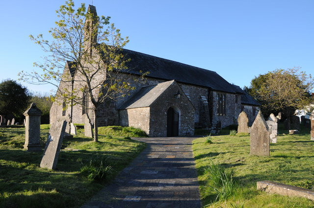 Myddfai church by Philip Halling