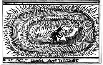 The Mowing-Devil: Or, Strange NEWS out of Hartford-ſhire. Being a True Relation of a Farmer, who Bargaining with a poor Mower, about the Cutting down Three Half Acres of Oats upon the Mower's asking too much, the Farmer ſwore, 'That the Devil ſhould Mow it, rather than He.' And lo it fell out, that that very Night, the Crop of Oats ſhew'd as if it had been all of a Flame, but next Morning appear'd ſo neatly Mow'd by the Devil, or ſome Infernal Spirit, that no Mortal Man was able to do the like. Alſo, How the ſaid Oats ly now in the Field, and the Owner has not Power to fetch them away. https://en.wikipedia.org/wiki/Mowing-Devil#/media/File:Diablefaucheur.jpg