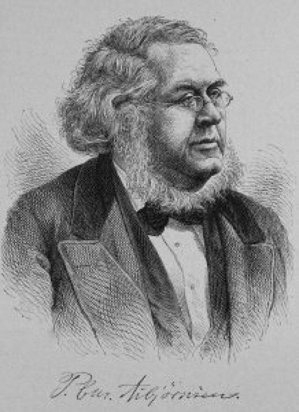 Portrait of Peter Christen Asbjørnsen