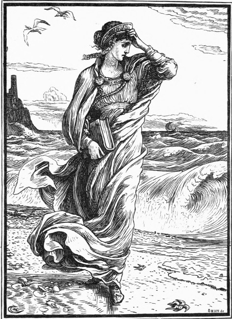 """Illustration from the literary fairy tale """"The Wise Princess"""" By Mary de Morgan By Walter Crane - http://www.gutenberg.org/files/38976/38976-h/38976-h.htm#Page_175, Public Domain, https://commons.wikimedia.org/w/index.php?curid=24586986"""