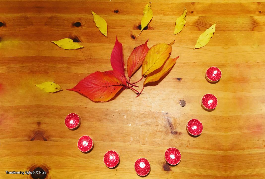 Transforming Light by JC Niala