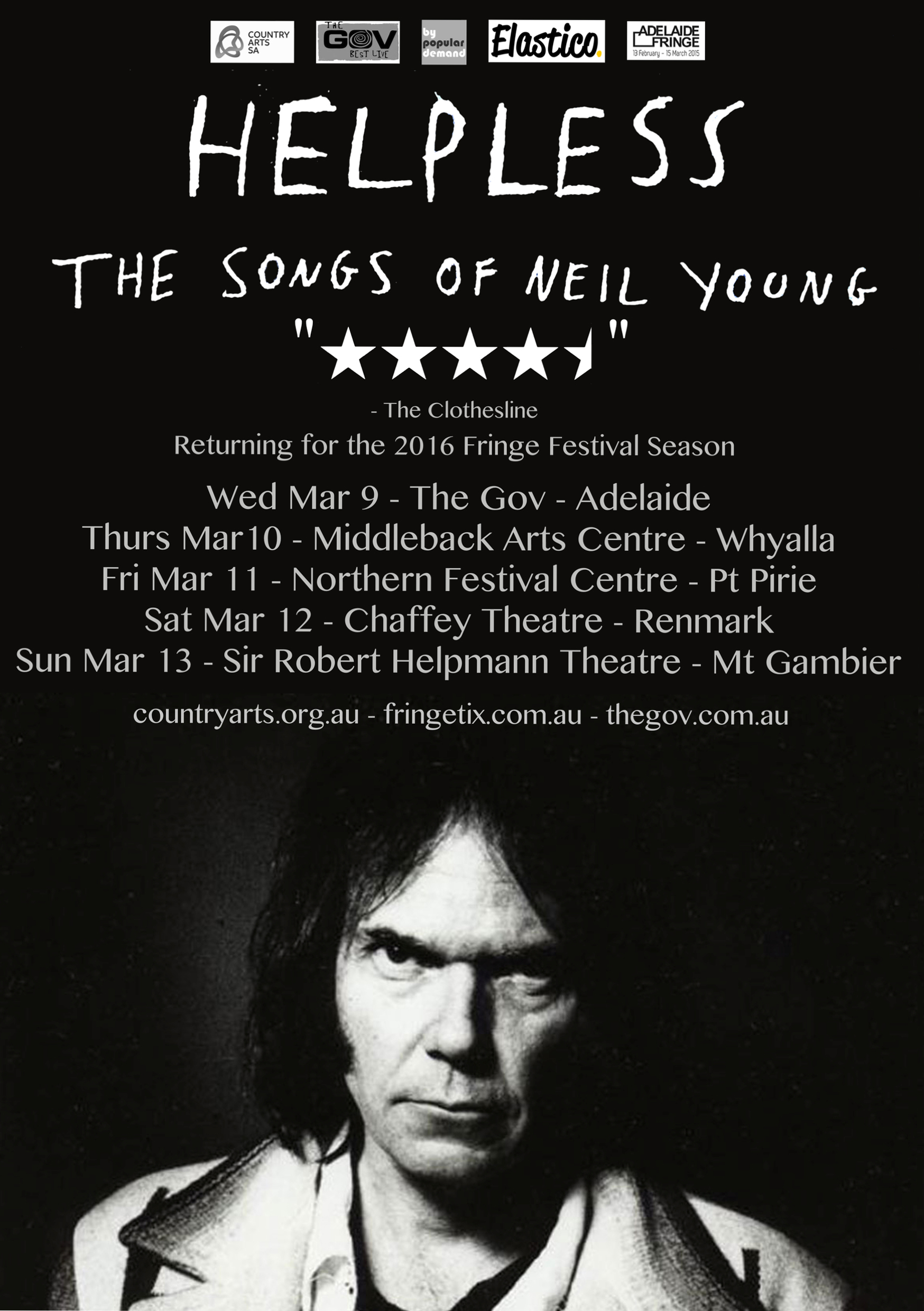 Helpless – The Songs Of Neil Young