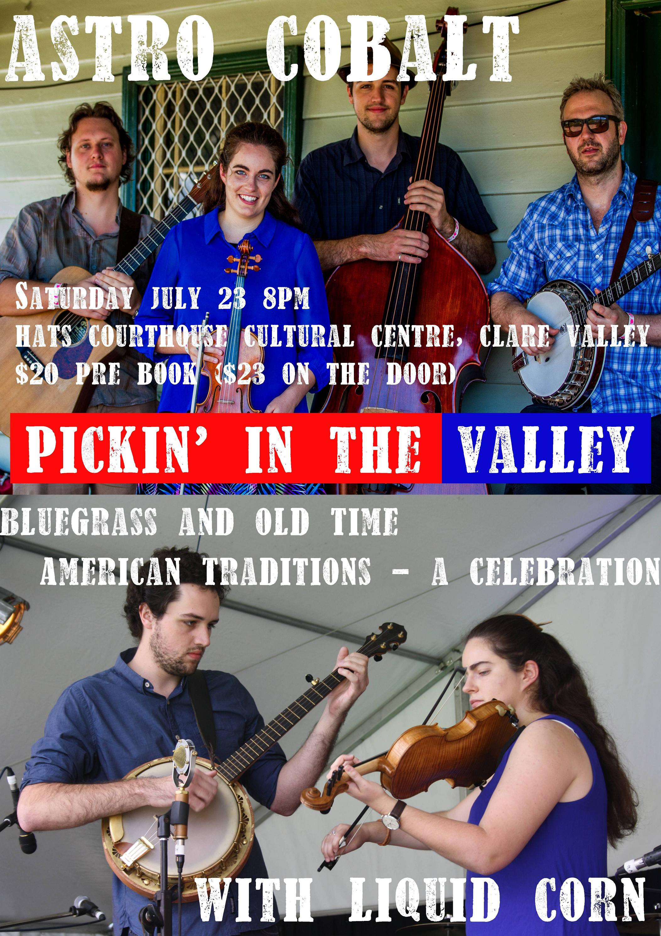 Pickin' in the valley: Astro Cobalt at Auburn Courthouse