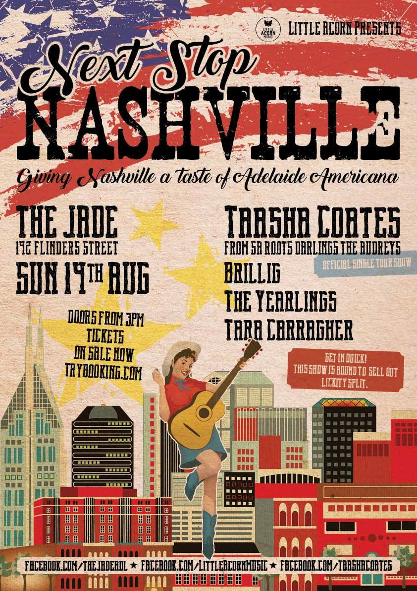 Next Stop Nashville -Taaasha Coates, Brillig, Tara Carragher & The Yearlings